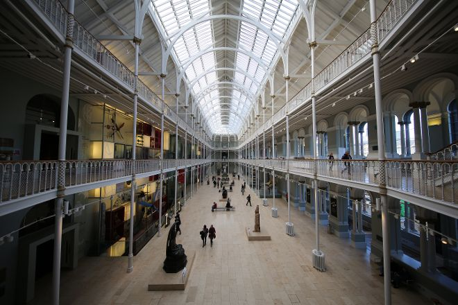 National Museum of Scotland, Edinburgh, United Kingdom