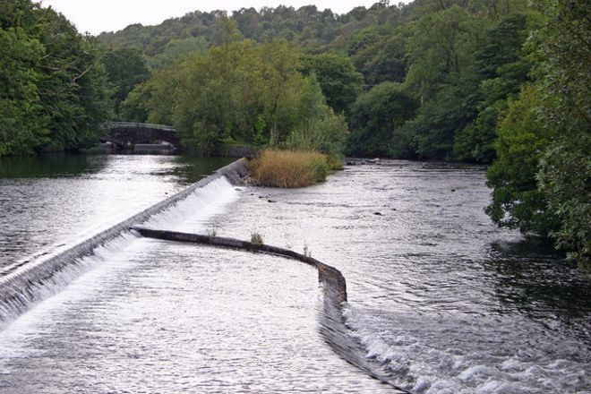 Newby Bridge Weir, Newby Bridge, United Kingdom