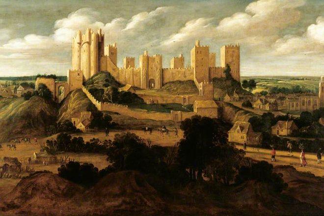 Pontefract Castle, Pontefract, United Kingdom