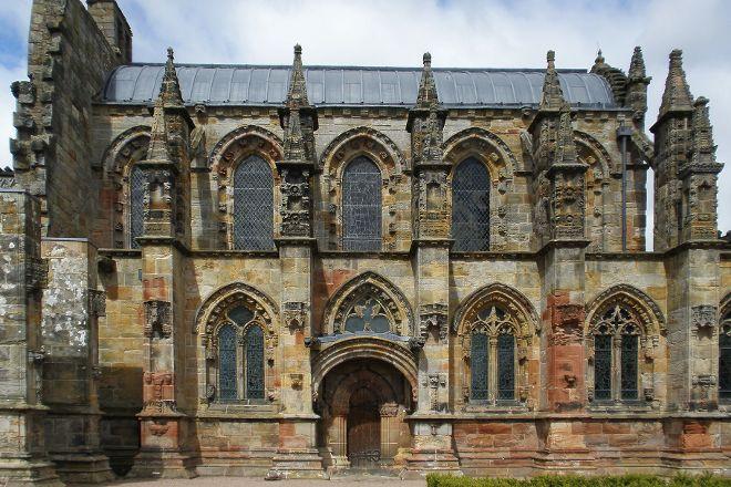 Rosslyn Chapel, Roslin, United Kingdom