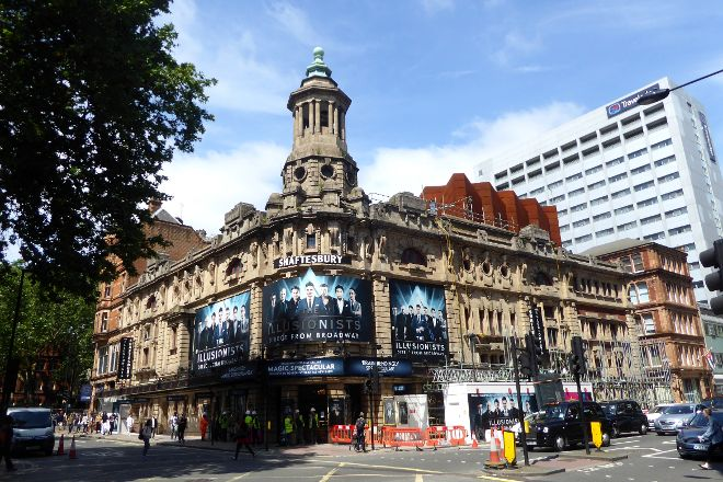 The Shaftesbury Theatre, London, United Kingdom