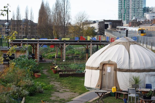 Spitalfields City Farm, London, United Kingdom
