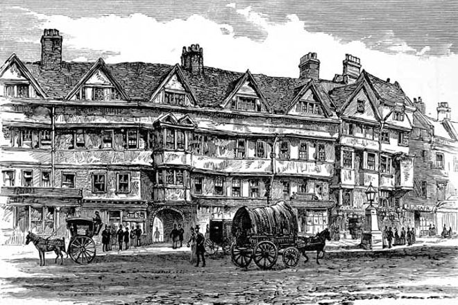 Staple Inn, London, United Kingdom