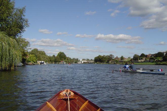 Sunbury Lock, Walton-On-Thames, United Kingdom