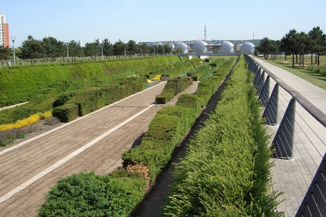 Thames Barrier Park, London, United Kingdom