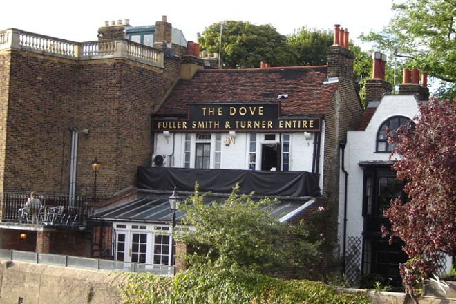 The Dove at Hammersmith, London, United Kingdom