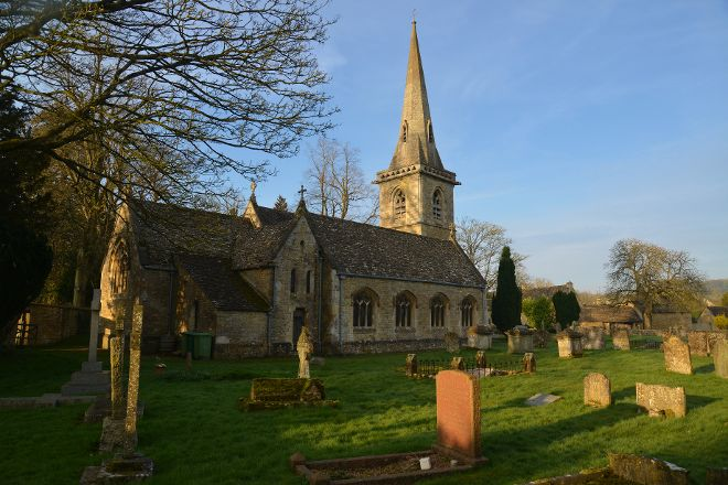 The Parish Church of St. Mary, Lower Slaughter, United Kingdom