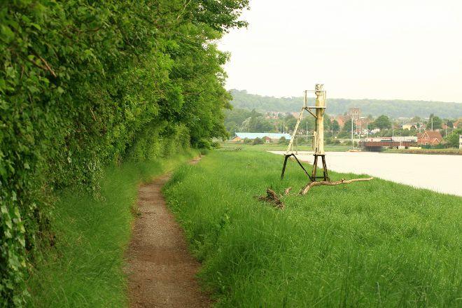 The River Avon Trail, Stratford-upon-Avon, United Kingdom