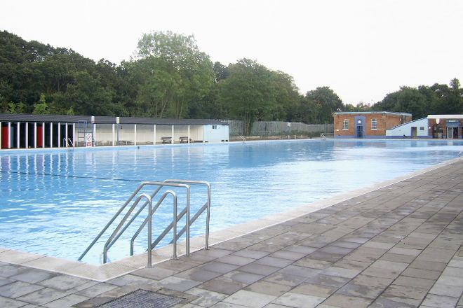 Tooting Bec Lido, London, United Kingdom
