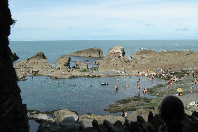 Tunnels Beaches, Ilfracombe, United Kingdom