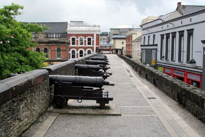 Walled city Londonderry, Derry, United Kingdom
