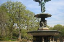Bethesda Fountain, New York City, United States