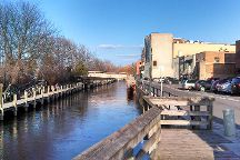 Boardman River Boardwalk, Traverse City, United States
