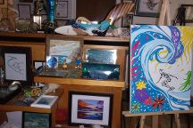 Bruce Snake Gabrielson's Surf Art Gallery and Museum, Chesapeake Beach, United States