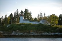 Burnt Island Lighthouse, Boothbay Harbor, United States