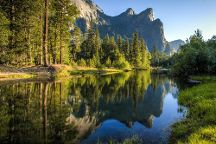 Cathedral Beach Picnic Area, Yosemite National Park, United States