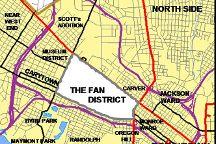 Fan District, Richmond, United States