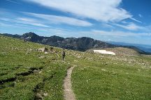 Flattop Mountain Trail, Rocky Mountain National Park, United States