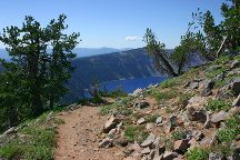 Garfield Peak, Crater Lake National Park, United States