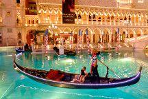 Gondola Rides at the Venetian, Las Vegas, United States