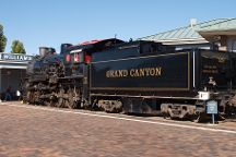Grand Canyon Railway Depot, Grand Canyon National Park, United States
