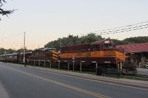 Great Smoky Mountains Railroad, Bryson City, United States