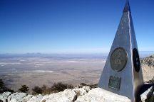 Guadalupe Mountains National Park, Salt Flat, United States
