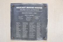 Holocaust Museum Houston, Houston, United States