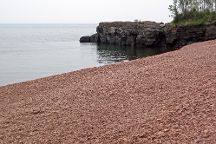 Iona's Beach Scientific and Natural Area, Two Harbors, United States