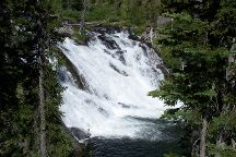 Lewis Falls, Yellowstone National Park, United States