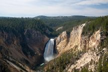 Lookout Point, Yellowstone National Park, United States
