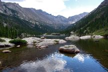Mills Lake, Rocky Mountain National Park, United States