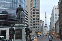 Monument Circle, Indianapolis, United States
