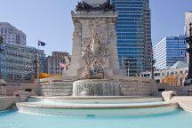 Monument Circle, Indianapolis, United States