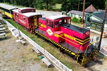 New Hope Valley Railway, New Hill, United States