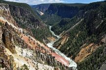 North Rim Trail, Yellowstone National Park, United States