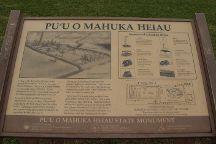 Pu'u O Mahuka Heiau State Monument, Pupukea, United States