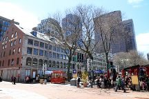 Quincy Market, Boston, United States