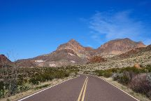 Ross Maxwell Scenic Drive, Big Bend National Park, United States
