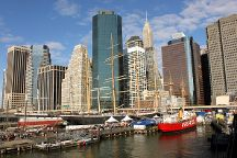 Seaport District NYC, New York City, United States