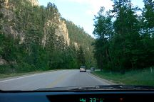 Spearfish Canyon Scenic Byway, Spearfish, United States