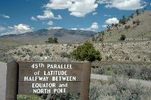The 45th Parallel, Yellowstone National Park, United States