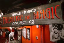 The Maxwell Blade Theatre of Magic, Hot Springs, United States