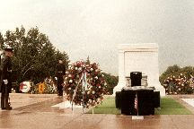 The Tomb of the Unknown Soldier, Arlington, United States