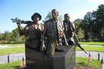 Three Servicemen Statue, Apalachicola, United States