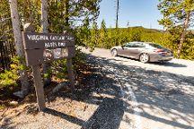Virginia Cascade Drive, Yellowstone National Park, United States