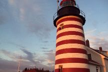 West Quoddy Head Light, Lubec, United States