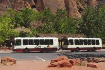 Zion Shuttle, Zion National Park, United States