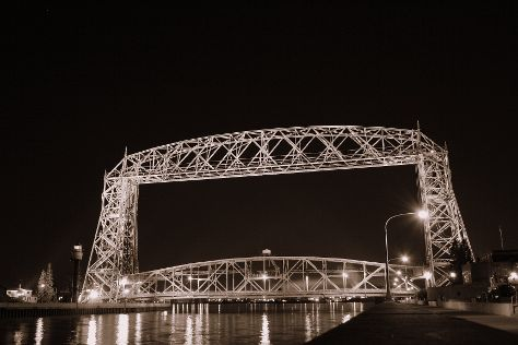 Aerial Lift Bridge, Duluth, United States