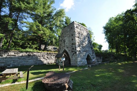 Beckley Furnace Industrial Monument, East Canaan, United States